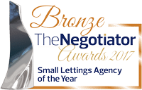 Bronze - Small Lettings Agency of the Year 2017