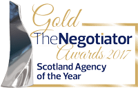 Gold - Scotland Agency of the Year 2017