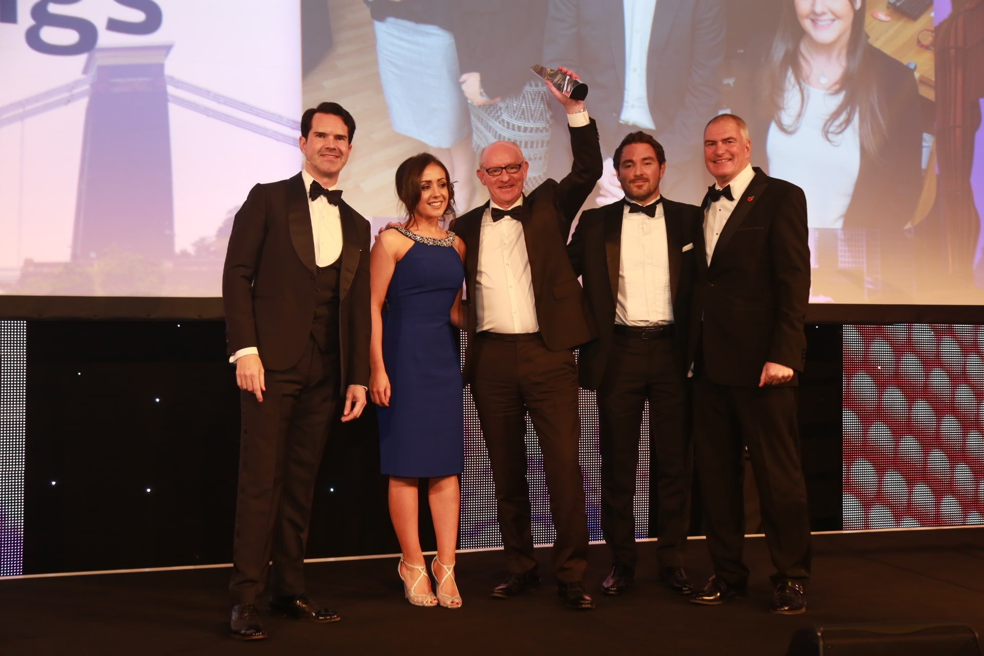 Western Lettings receiving Award
