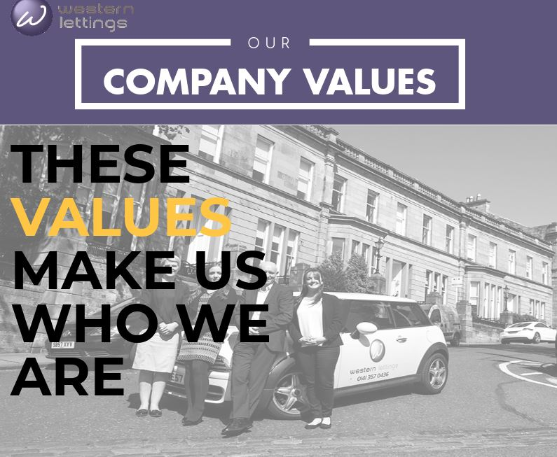 Western Lettings our values