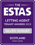 Silver - Letting Agent of the Year 2019 - Voted by Tenants