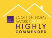 Scottish Home Awards 2020 - Highly Commended logo
